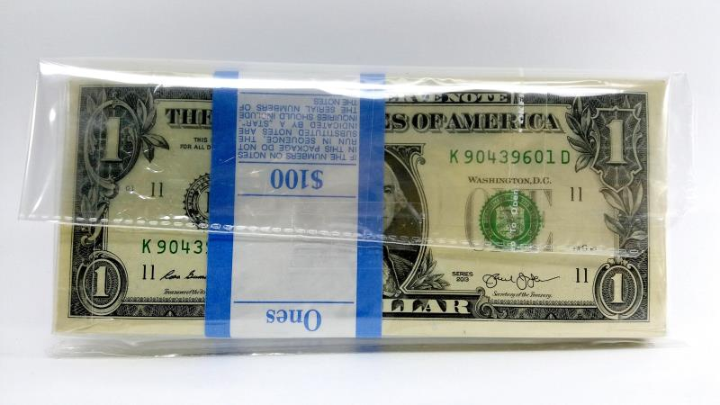 بسته فوق العاده و کمیاب ۱ دلار آمریکا ۲۰۱۳
