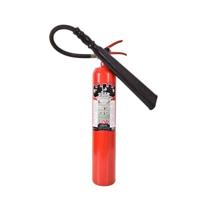 کپسول آتش نشانی Co2 شش کیلویی دژ