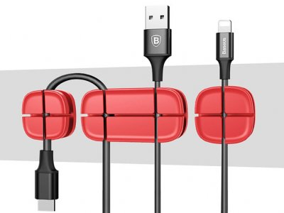 تصویر گیره نگهدارنده کابل بیسوس Baseus Cross Peas Cable Clip