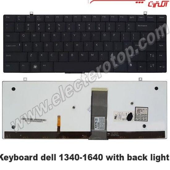 تصویر Keyboard Laptop Dell 1340-1640 کیبورد لپ تاپ دل ۱۶۴۰-۱۳۴۰ با بک لایت