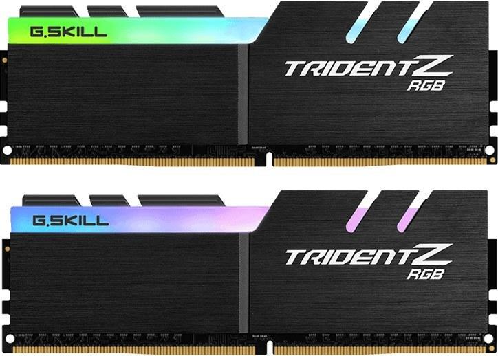 تصویر رم 32گیگابایت DDR4 مارک G.Skill مدل TRIDENT Z RGB F4-3200C16D-32GTZRX