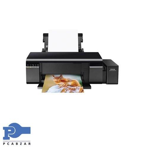 تصویر پرینتر جوهر افشان تک کاره ال 805 اپسون L805 Inkjet Photo Printer