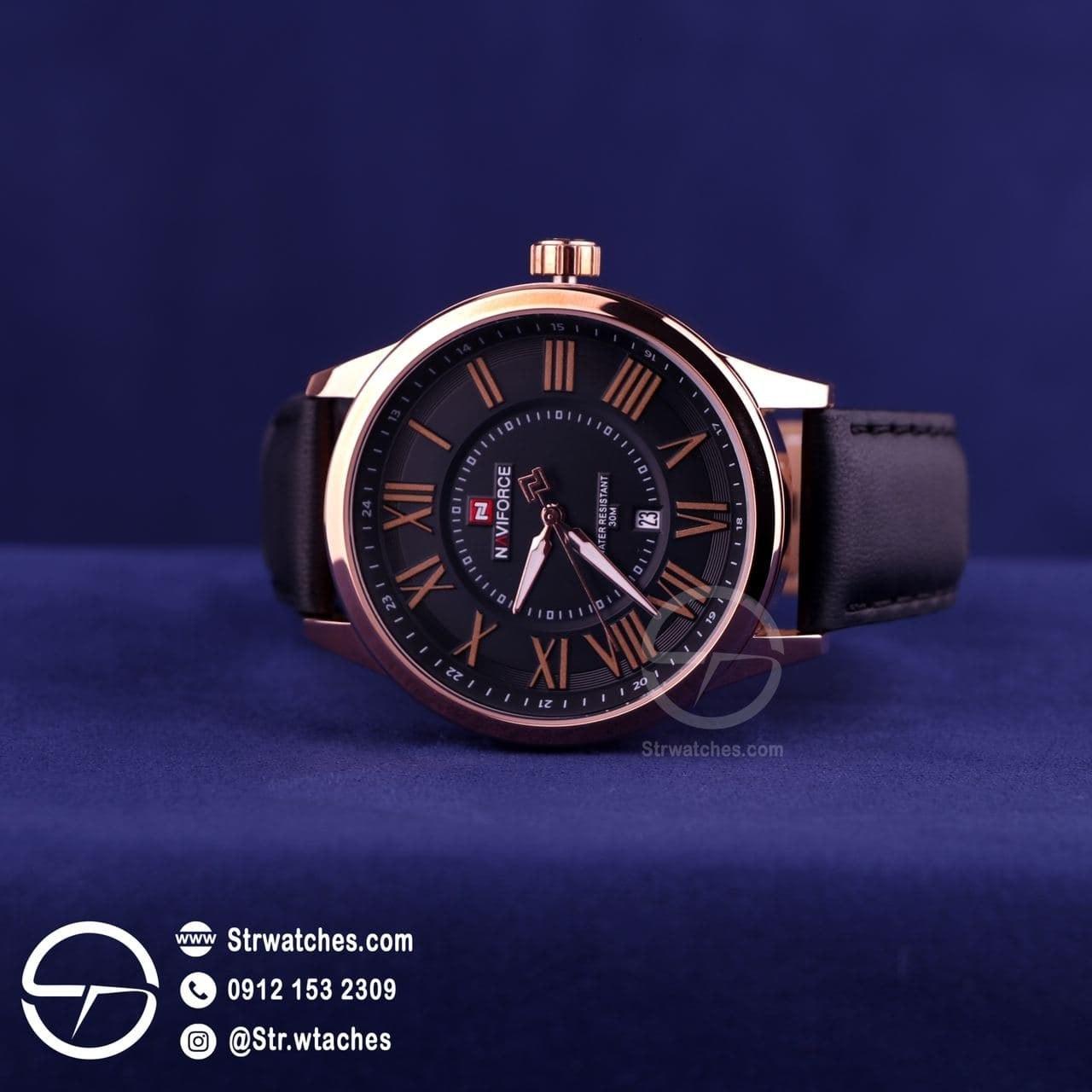 تصویر ساعت مچی مردانه عقربه ای نیوی فورس اورجینال مدل NF9126