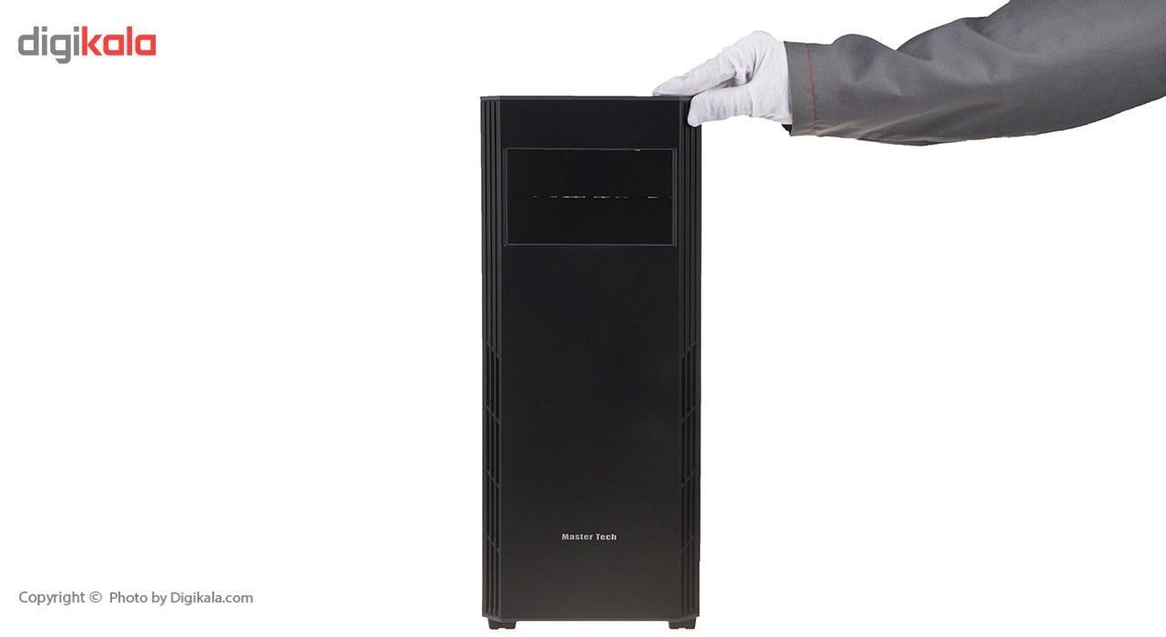تصویر کیس کامپیوتر مسترتک مدل آرکا متال فلت کیس Case مسترتک ARKA METAL FLAT Mid Tower Computer Case