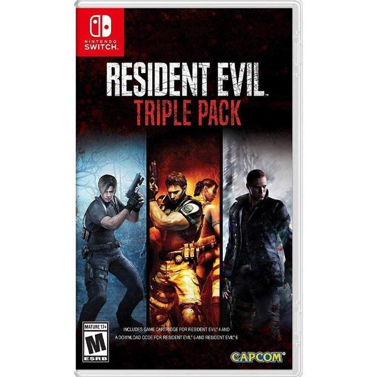 تصویر بازی Resident Evil Triple Pack - مخصوص نینتندو سوئیچ