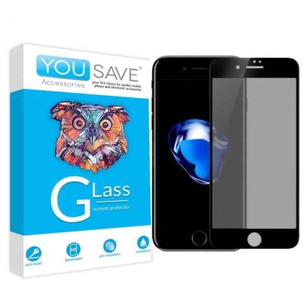 تصویر گلس تمام صفحه مات گوشی موبایل اپل IPHONE 5/5S/SE