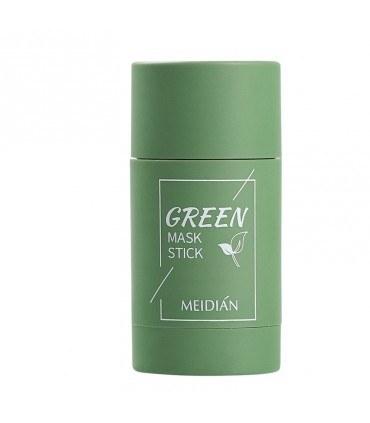 تصویر ماسک صورت استیکی پاکسازی منافذ باز و کنترل چربی و سبوم چای سبز میدیان