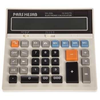 عکس ماشین حساب پارس حساب مدل DS-206L Pars Hesab DS-206L Calculator ماشین-حساب-پارس-حساب-مدل-ds-206l