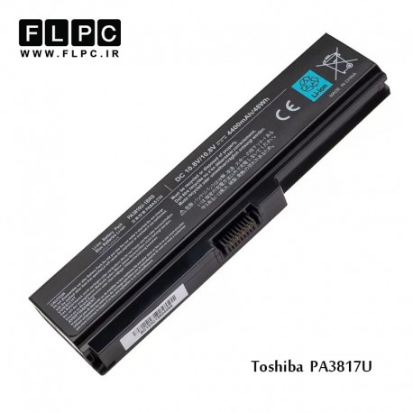 باطری لپ تاپ توشیبا Toshiba laptop battery PA3817U -6cell