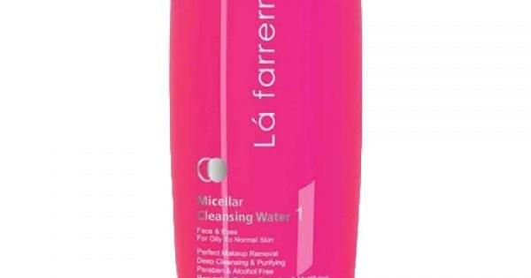 تصویر محلول پاک کننده صورت و آرایش لافارر مناسب پوست چرب و معمولی