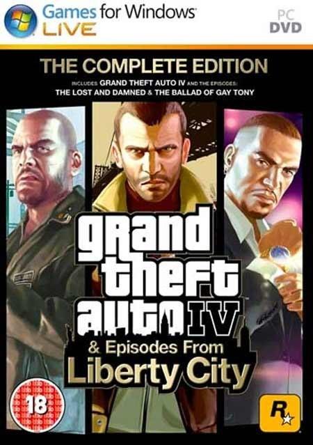 تصویر خرید بازی GTA IV Complete Edition جی تی ای 4 برای PC