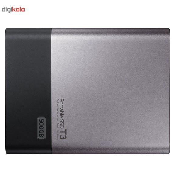تصویر حافظه SSD اکسترنال سامسونگ مدل T3 ظرفیت 1 ترابایت Samsung T3 External SSD - 1TB