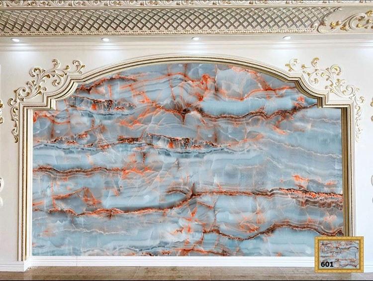 تصویر سنگ مصنوعی انیکس مرمر آبی کد 601 میکانو