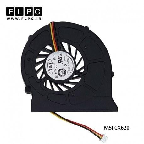 تصویر فن لپ تاپ ام اس آی CX620 مشکی MSI CX620 Laptop CPU Fan