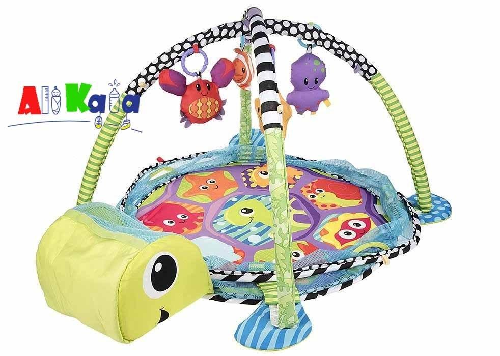 تشک بازی و استخر توپ طرح لاکپشت مدل 63530