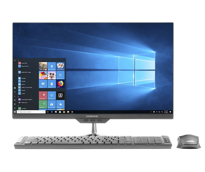 کامپیوتر آماده AIO گرین GX24-i518 Core i5 8GB 1TB Intel All-in-One PC