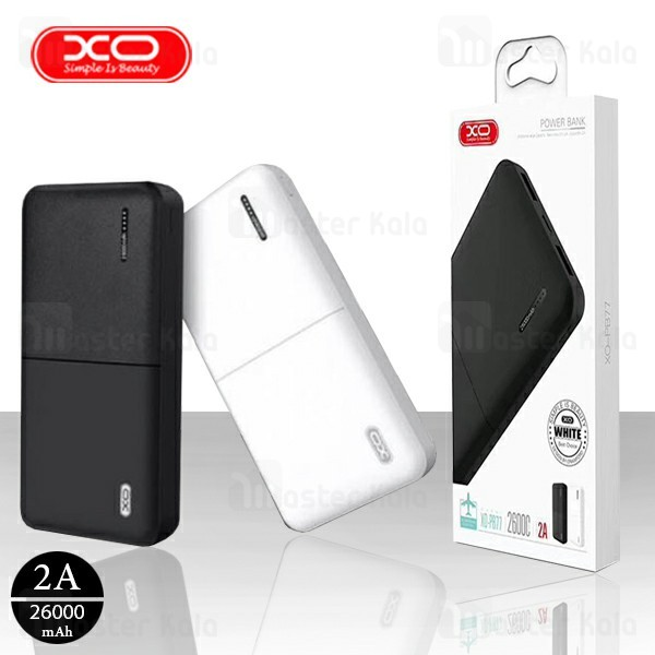 پاوربانک 26000 ایکس او XO PB77 Power Bank توان 2 آمپر