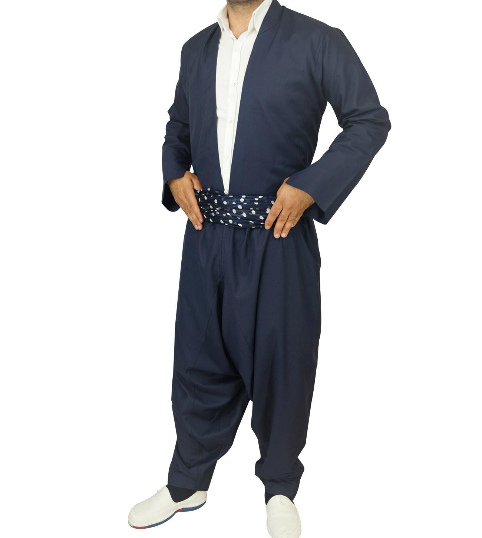 تصویر لباس کردی مردانه مدل هورامی