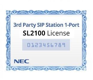 تصویر لایسنس 1 کاناله سیپ فون یا آی پی فون نک NEC