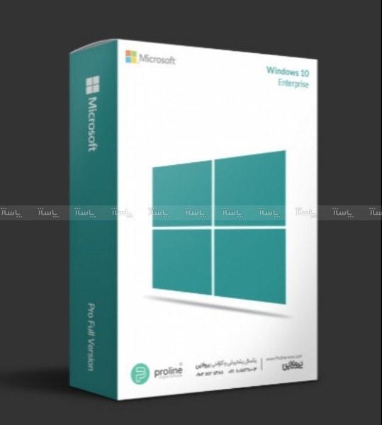 ویندوز اورجینال 10 اینترپرایز windows 10 enterprise - یکبار نصب |