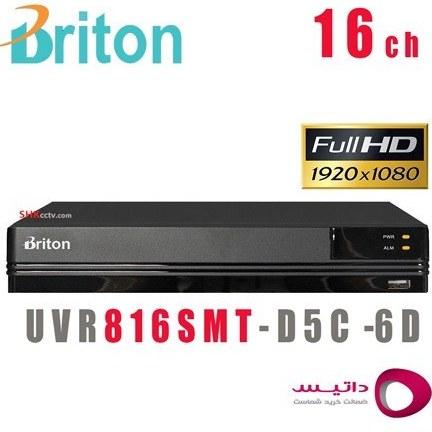 تصویر دستگاه ضبط تصاویر 16 کانال برایتون Briton UVR816SMT-D5C6-D