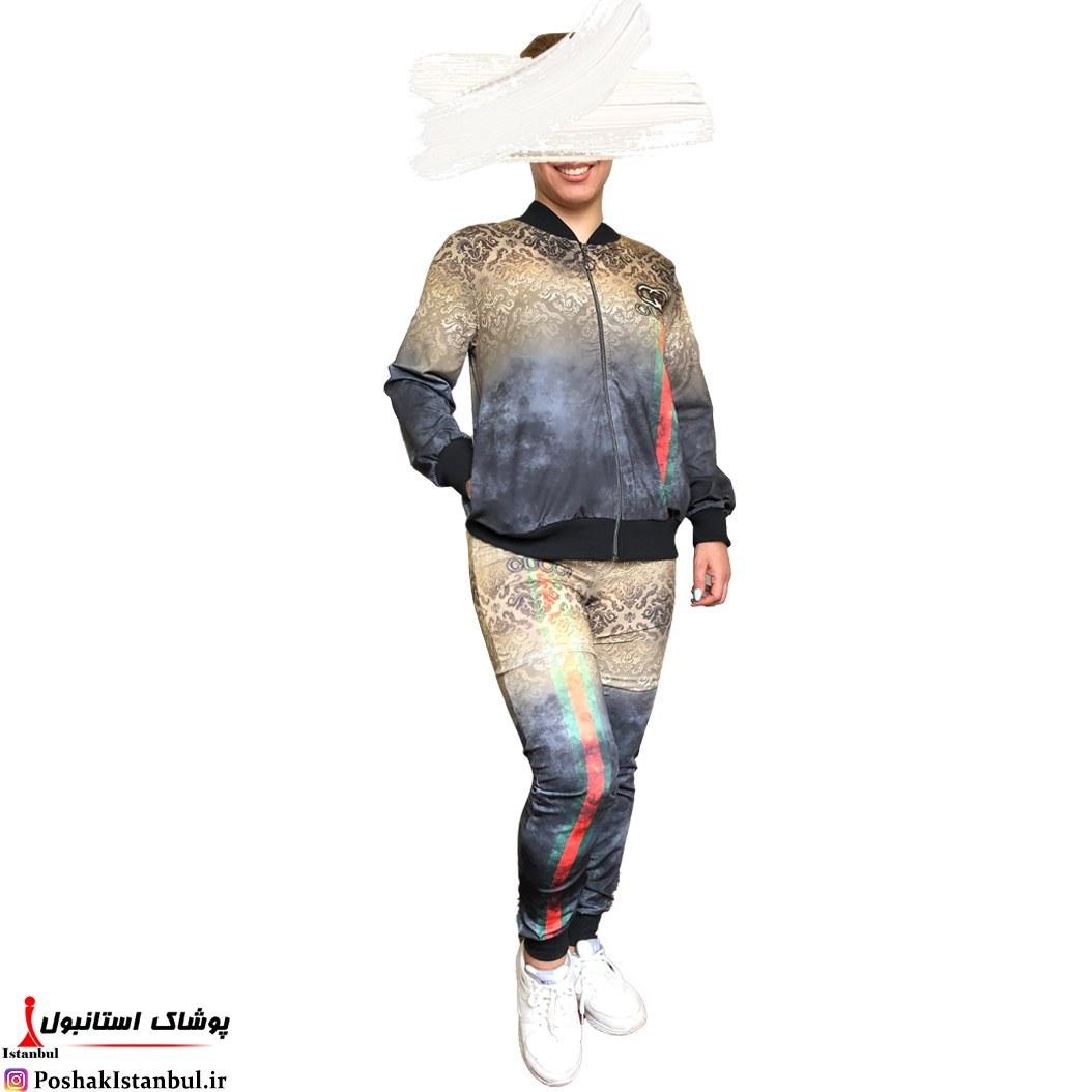 main images سویشرت شلوار زنانه مولتی برند کد2479 دارای رنگبندی