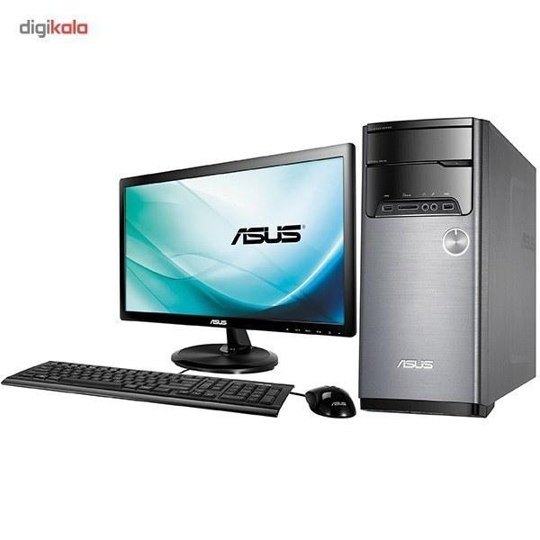 تصویر کامپيوتر دسکتاپ ايسوس مدل M32CD-BH008D ASUS M32CD-BH008D Desktop Computer