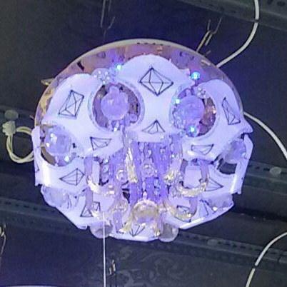 لوستر سقفی LED (کد: ۳۵۰/ ۸۸۶۶)  