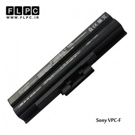 تصویر باطری لپ تاپ سونی Sony VPC-F Laptop Battery _6cell مشکی