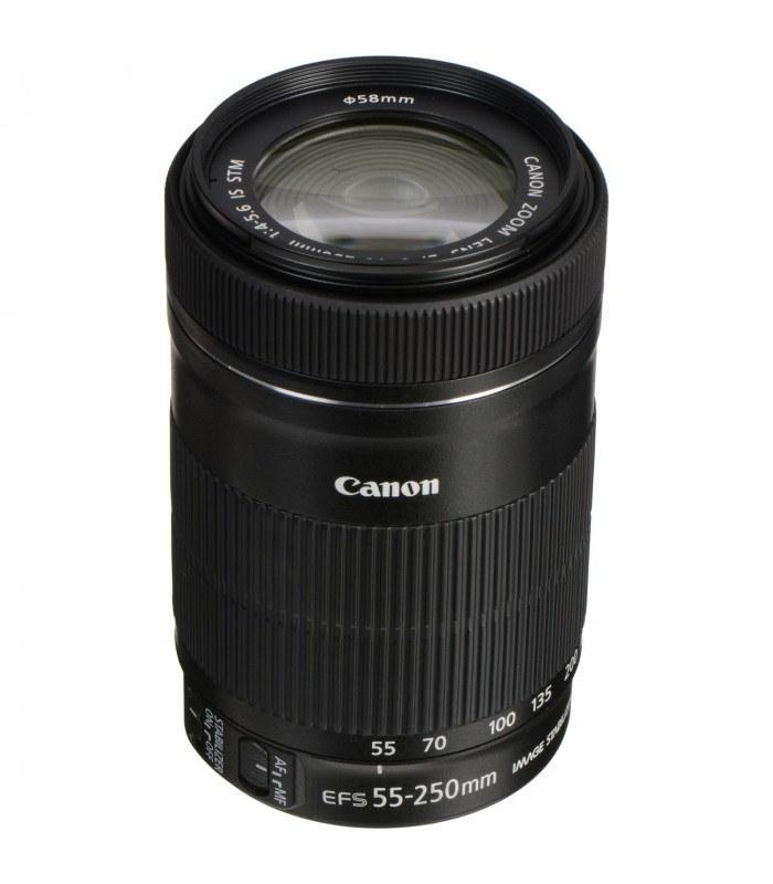 لنز کانن مدل 250-55 F/4-5.6 IS STM | Canon 55-250mm F/4-5.6 IS STM Lens