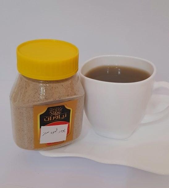 پودر قهوه سبز ارگانیک برند نیاوران ۱۰۰ گرم