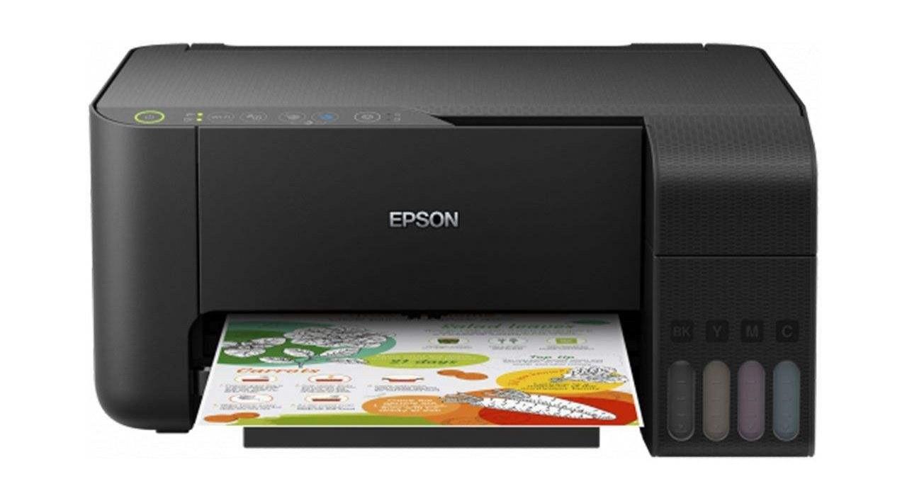 تصویر پرینتر چندکاره جوهرافشان اپسون مدل EcoTank L3150 Epson EcoTank L3150 Multifunction Inkjet Printer