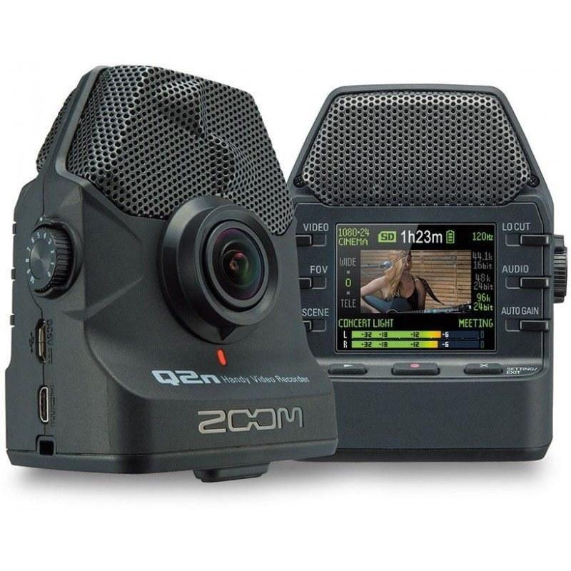 تصویر رکوردر پرتابل صدا و تصویر زووم Zoom Q2N-R آکبند