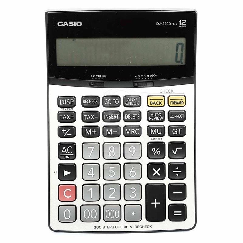 main images ماشین حساب DJ-220D Plus کاسیو Casio DJ-220D Plus Calculator