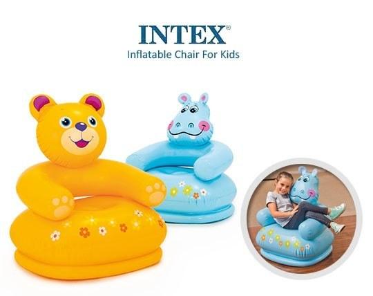 مبل بادی کودک طرح حیوانات INTEX