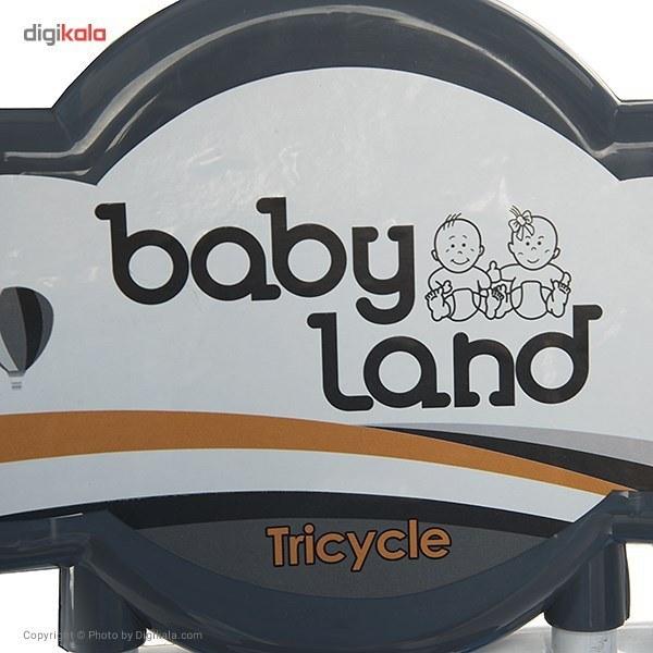تصویر سهچرخه بيبي لند مدل Robot T-402 Baby Land Robot T-402 Tricycle