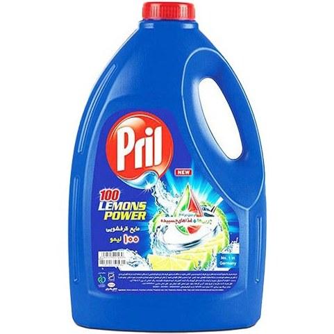 مایع ظرفشویی ۴ لیتری پریل |