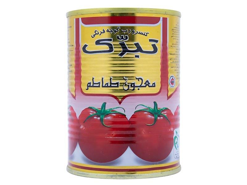 تصویر رب گوجه فرنگی تبرک 400 گرم
