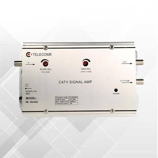 عکس تقویت کننده لاین تله کام ۴۰db  تقویت-کننده-لاین-تله-کام-40db
