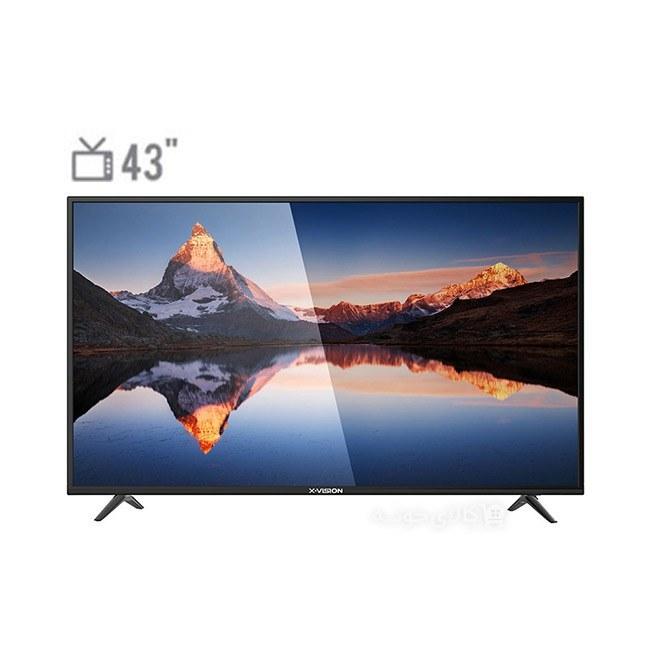 تصویر تلویزیون 43 اینچ ایکس ویژن مدل XK560 X.Vision 43XK560 TV