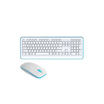 تصویر کیبورد و ماوس بی سیم هویت مدل KB546GCM Havit KB546GCM Wireless keyboard and mouse
