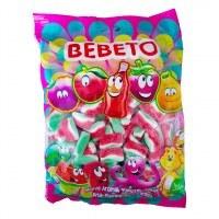 تصویر پاستیل ببتو مدل هندوانه بسته یک کیلویی Bebeto