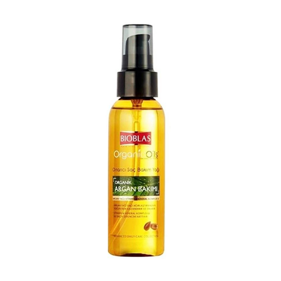 تصویر روغن مو آرگان بیوبلاس Bioblas حجم 100 میلی لیتر Bioblas Argan Hair Oil, Volume 100 ml