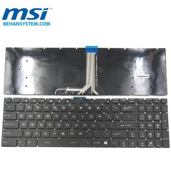 main images کیبورد لپ تاپ MSI مدل GE63 Raider