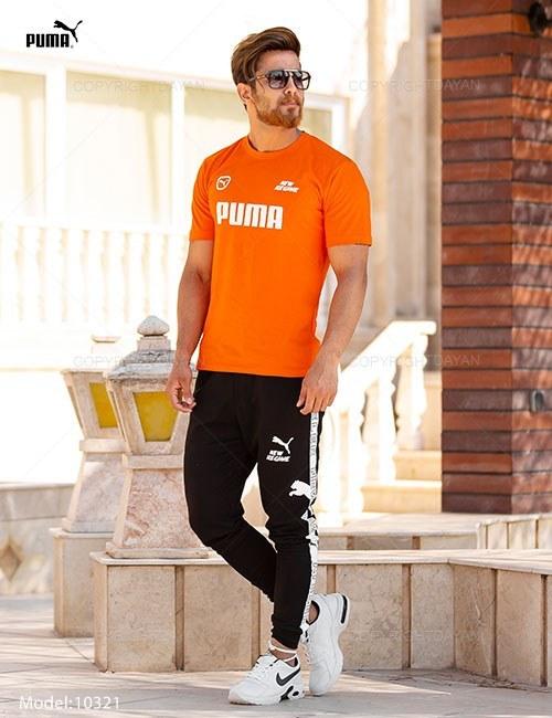 ست تیشرت و شلوار مردانه Puma مدل 10321  