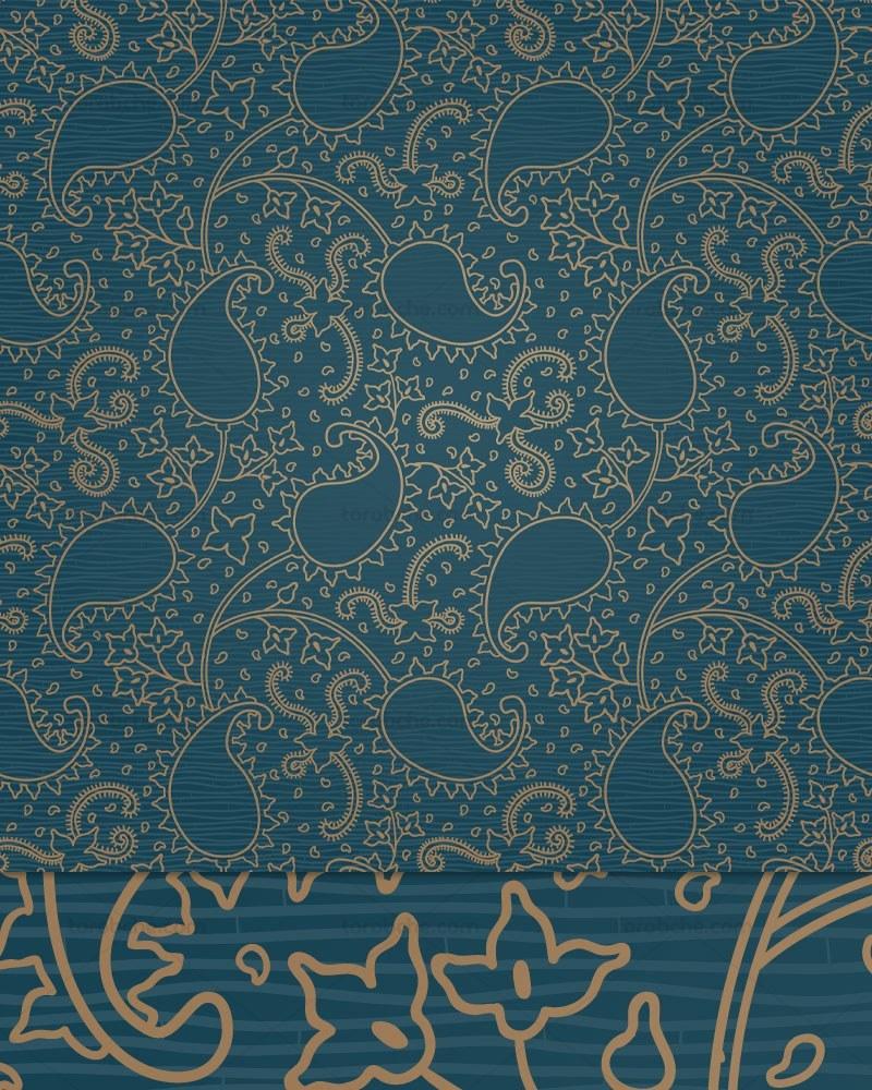 main images وکتور کاغذ دیواری بته جقه
