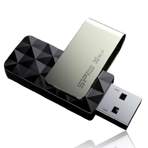 تصویر فلش درایو سیلیکون قدرت 32 گیگابایتی USB 3.0 ، Blaze B30
