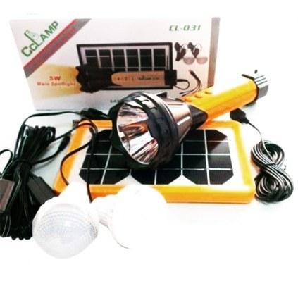 تصویر سیستم روشنایی خورشیدی CCLAMP مدل CL-031