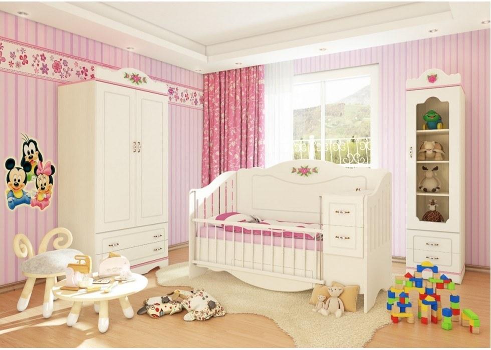سرویس تخت و کمد نوزاد نوجوان مدل پرنس |