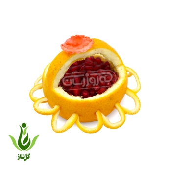 پرتقال طرح سبد انار گل ناز |